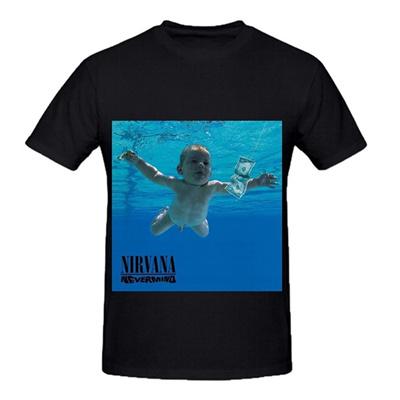 66badbab7ff27 Nirvana Nevermind Rock Album Cover Men Short Sleeve T Shirt