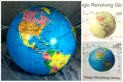 Qoo10 magic globe stationery supplies no hidden cost magic revolving globe new balls round table battery gifts country kid christmas present gumiabroncs Images