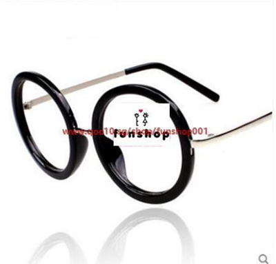 Qoo10 - Non-mainstream personality big round glasses frames for men ...