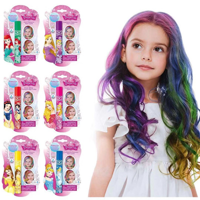 Non-toxic Princess Temporary Touchup Mascara Hair Color For Kids Hair Chalk  Hair Dye Role Play