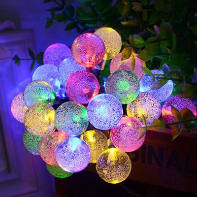 Solar Led Christmas Lights.Novelty Solar Led Christmas Lights Outdoor 6m 30leds Crystal Ball String Lamp Pendant Fairy Wedding