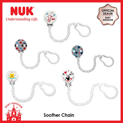 hearts NUK Soother Chain