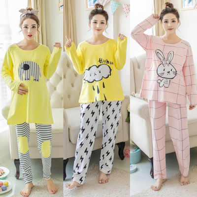 Nursing Breastfeeding Pyjamas short sleeve summer Pajamas Confinement Maternity  Sleepwear Hot seller 89b357afb
