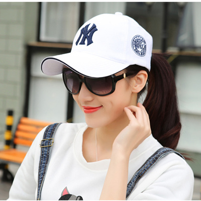 55e80435ed3afb Qoo10 - NY baseball hats men s Korean version flows in spring and summer  outdo... : Jewelry & Access.