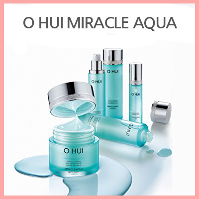Aqua Essen qoo10 o hui ohui miracle aqua line softener emulsion