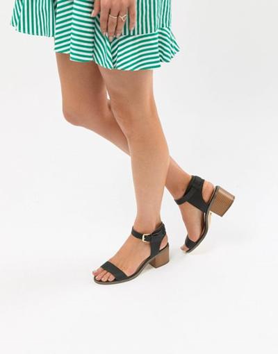 9526f1d1a99 Qoo10 - Oasis Block Heel Sandals   Shoes