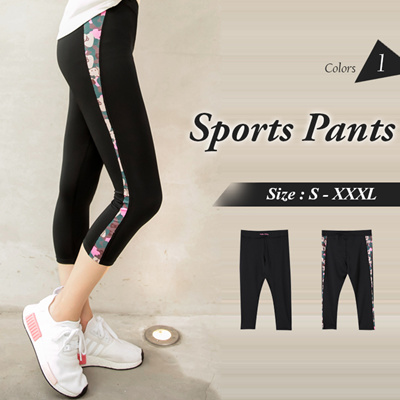 39a1b560a OB DESIGN ☆ OBDESIGN ☆ ORANGEBEAR ☆ HELLO KITTY CAPRI SPORTS PANTS ☆ 1  COLORS ☆
