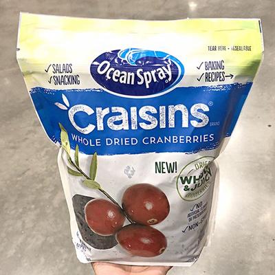 Ocean Spray Craisins Whole Dried