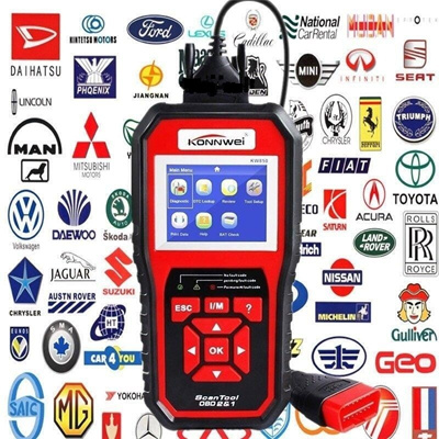 ODB OBD2 Auto Diagnostic Scanner KW850 Scanner for Car Diagnostic Autel