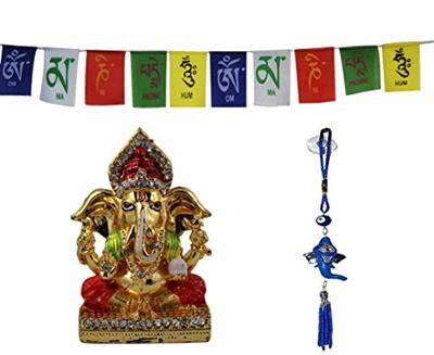 Qoo10 Odishabazaar Ganesha Car Idol For Car Dashboard Pooja Puja