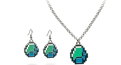 Qoo10 official licensed jinx minecraft diamond pendant necklace official licensed jinx minecraft diamond pendant necklace and diamond earring set aloadofball Choice Image