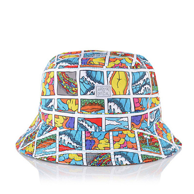 4100aecf37 Qoo10 -  OFFICIAL  Square Waves SP15-1720 Bucket Hat   Fashion ...