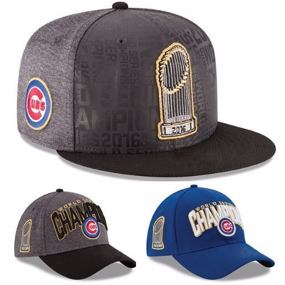 Official World Series Champions Champs Chicago Cubs New Baseball Cap Hat  Chicago Cubs Adjustable 89cc096523b