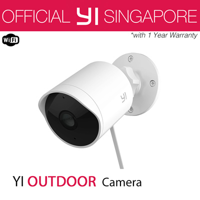 [Official YI Store] YI Outdoor Security Camera 1080P | Motion Sensor |  Activity Alert | Alarm