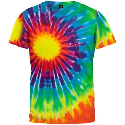 9126a4de51015 Qoo10 - Old Glory - Children s Spiral Tie Dye Juvy T-Shirt (Size: S ...