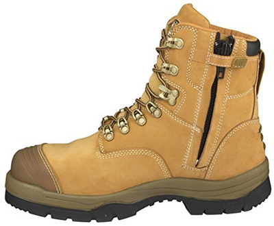 b0479c39000 Oliver ATs Mens Work Boots Safety Steel Toe ZIP 55332Z