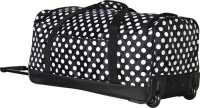 Qoo10 - Olympia 26 Fashion Rolling Duffel   Bag   Wallet 88fc4f28f1515