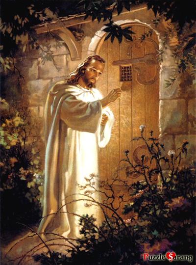 Qoo10 - Omega Jesus Knocking On The Door - Warner Sallman ...