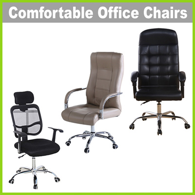 [Life+] Comfortable Office Chairs ? 3 Types u2022 Sturdy u2022 Ergonomic Backrest u2022 Self  sc 1 st  Qoo10 : comfortable office chair - lorbestier.org