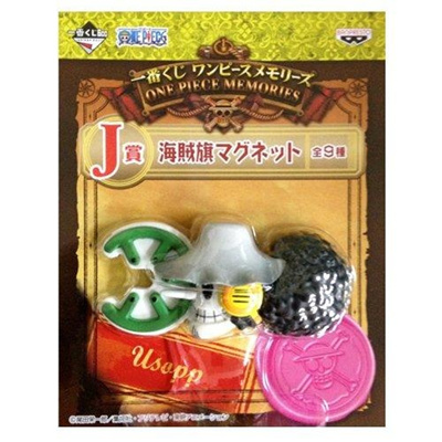 One Piece Memories J lottery prize pirate flag magnet Usopp most (japan  import)