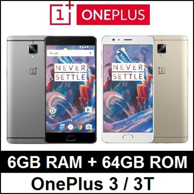 0e8ede678 Oneplus 3   3T   6GB RAM   64GB ROM   Snapdragon 821   Quad Core