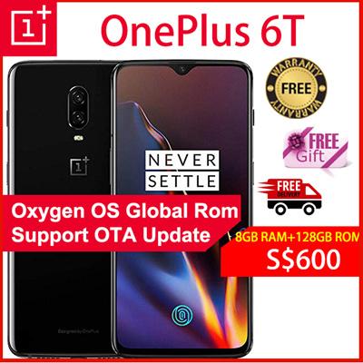 OnePlusOneplus 6T Smartphone/64GB ROM+6GB RAM / 128GB ROM+8GB RAM/Export  Set with Warranty