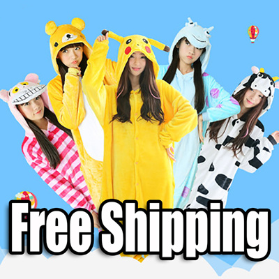 Onesies Pyjamas Cartoon animaux cosplay adultes Onesies costume party  Pikachu 9f300cfa2