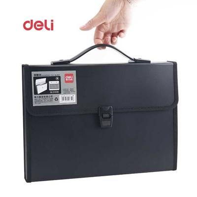 7007ac31048 online Deli Waterproof Book A4 Paper File Folder Bag business supplies  Style Design Document Rectang