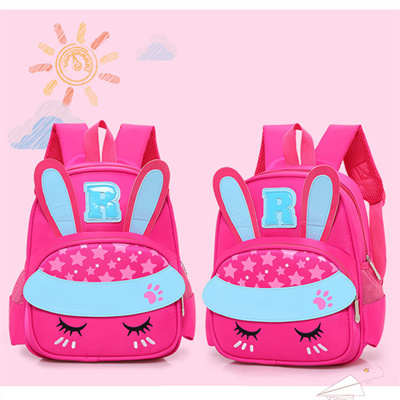 online LXFZQ 3D girls school bags Cartoon Pink kids backpack boys  kindergarten 3-6 years dbeb948b14c99