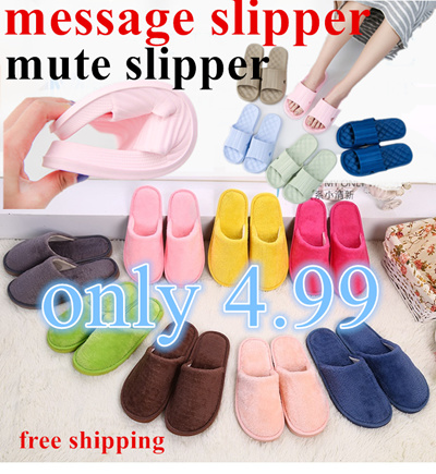 4e92249c0f8 Qoo10 - ☆only  4.99 with free shipping!super sale Mute slipper home slipper  so...   Shoes
