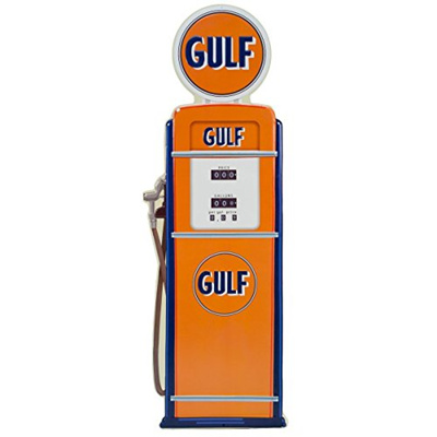 Qoo10 Open Road Brands Gulf Gas Pump Embossed Tin Sign Vintage