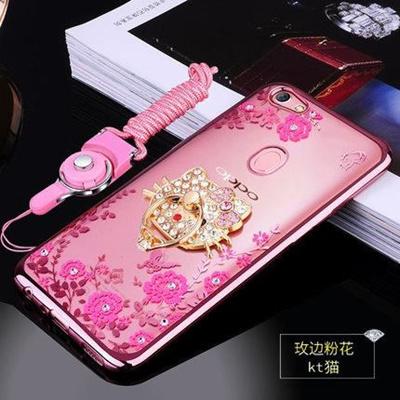 reputable site 8174c e263d Oppo F5 Blink Blink Korea Diamond Case Casing Cover + Tempered Glass