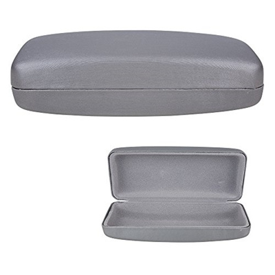 e1e28012cc3c  OPTIPLIX  Clamshell Hard Shell Glasses Case - Durable Protective Holder  for Sunglasses and Eyeglass