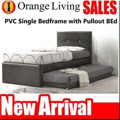 Qoo10 Promotion 8021 Single Super Single Bedframe