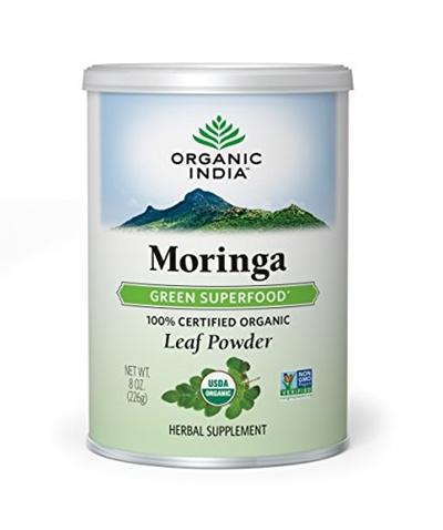 ORGANIC INDIAORGANIC INDIA Moringa Powder Complex Superfood for Essential  Nutrition - Abundant in Vitamins, Miner