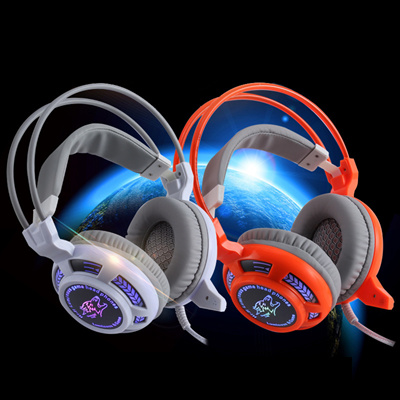 Original Ghosts G900 Pc Casque Audio Leather Noise Cancelling Bass Stereo Dj Auriculares Hi Fi Gamin