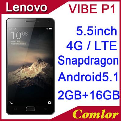 Qoo10 - Original Lenovo Vibe P1 5000mAh 4G LTE Snapdragon615 Octa