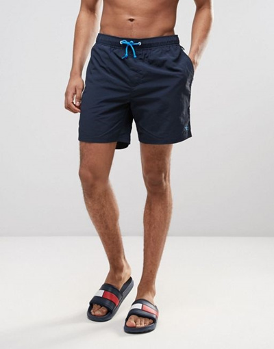 e43bfa4fbe Qoo10 - Original Penguin Swim Shorts Small Logo in Navy : Men's Clothing