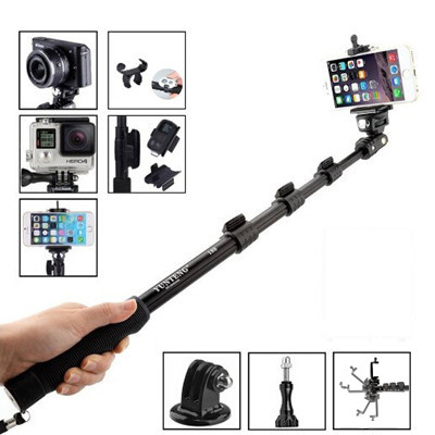 qoo10 original yunteng 188 selfie stick tripod monopod self timer strong ex. Black Bedroom Furniture Sets. Home Design Ideas