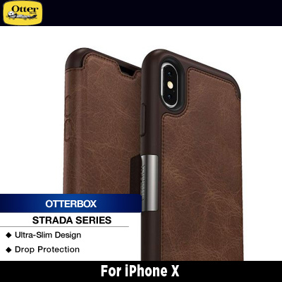 huge discount ec66b dfd4c OtterBox iPhone X Strada Series Espresso (Brown/Brown)