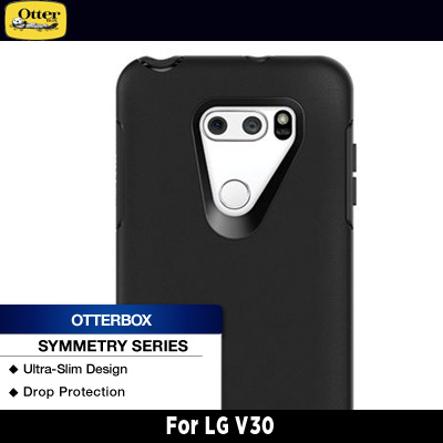 huge discount 63ba0 46ef1 OtterBox LG V30 Symmetry Series Black