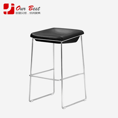 Ougebeisi European Style Bar Stool Chair Stylish Simple High Stools