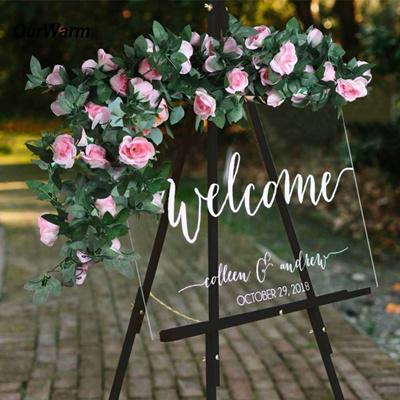 Ourwarm Artificial Flowers Silk Rose Flower Garland Diy Flowers For Wedding Artificial Rose Vine Hom