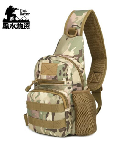 83f56853dba4 Outdoor army fan tactical chest bag multi-function shoulder diagonal  package Oxford cloth waterproof men and women casual camouflage sports bag