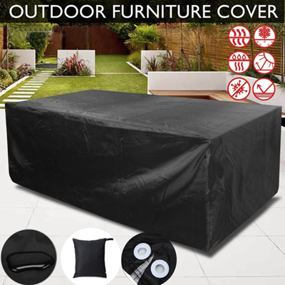 outdoor furniture covers waterproof. Modren Covers Outdoor Patio Garden Furniture Cover Chair Table Covers Waterproof Dust  Snow UV Resistant Clot Intended R