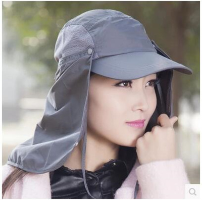 367fcea60a3 Qoo10 - Outdoor sun protection Hat woman man-fishing hats summer hats UV  prote...   Fashion Accessor.