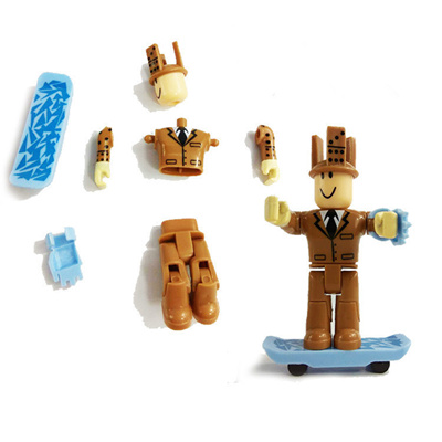 outlet 2018 7/7 5cm Cartoon PVC Roblox Characters with Weapons Game Figma  Oyuncak Action Toys Figure
