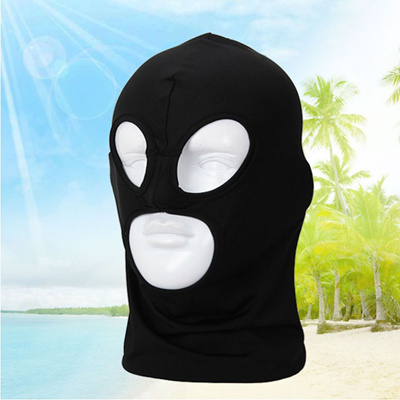 outlet 2018 New Full Face Cover Mask Three 3 Holes Balaclava Knit Hat  Winter Stretch Snow 4ad3ea8d3079
