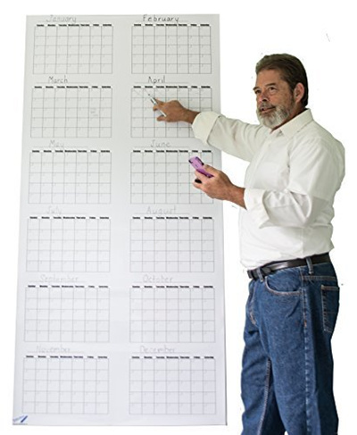 qoo10 oversize calendar large wall calendar dry erase annual