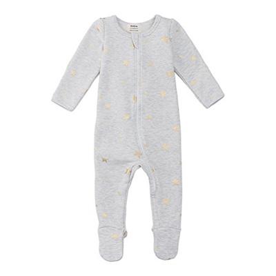 3964d8b565 Qoo10 -  OWLIVIA  Organic Cotton Baby Boy Girl Fleece Zip Up Sleep N ...